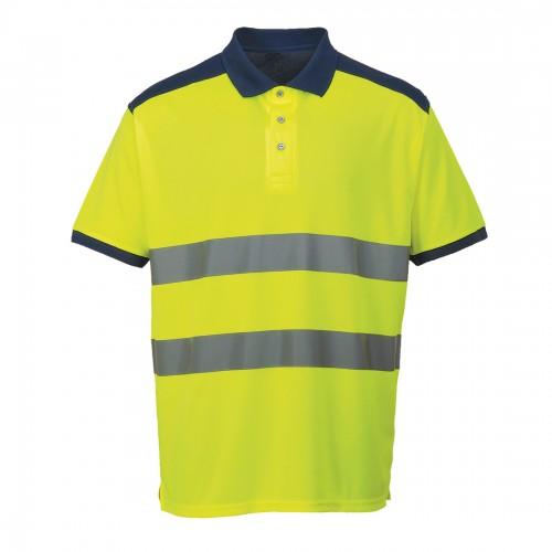Koszulka polo ostrzegawcza S379