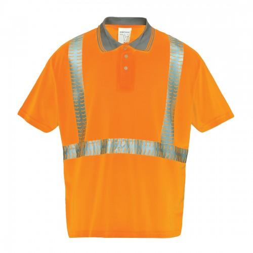 Koszulka polo ostrzegawcza Superior S377