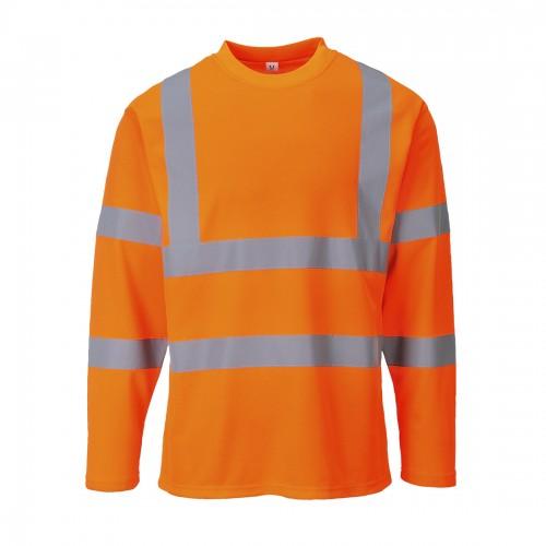 Koszulka ostrzegawcza z długim rękawem S278