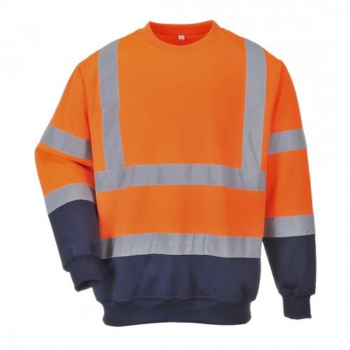 Bluza ostrzegawcza dwukolorowa B306