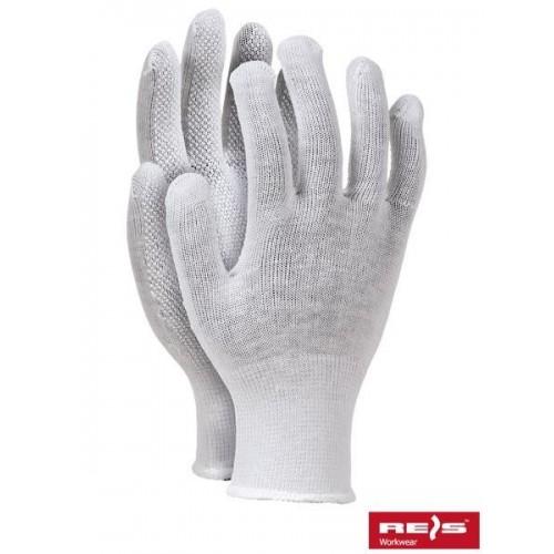 Rękawice nakrapiane RMICRONCOT W
