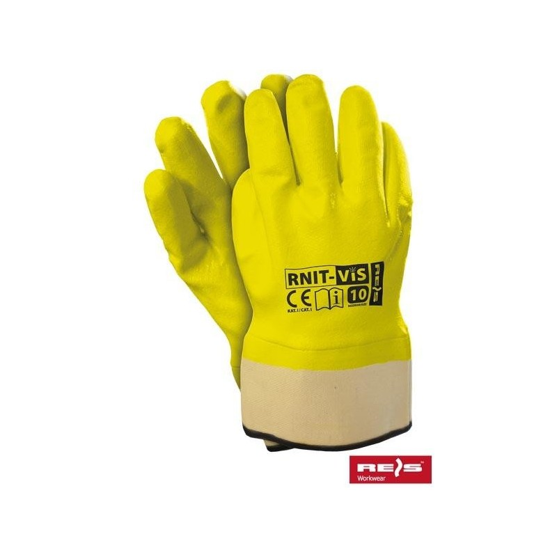 Rękawice ochronne RNIT-VIS SE 10