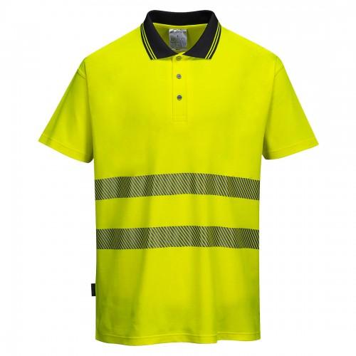 Koszulka polo ostrzegawcza Pro S180
