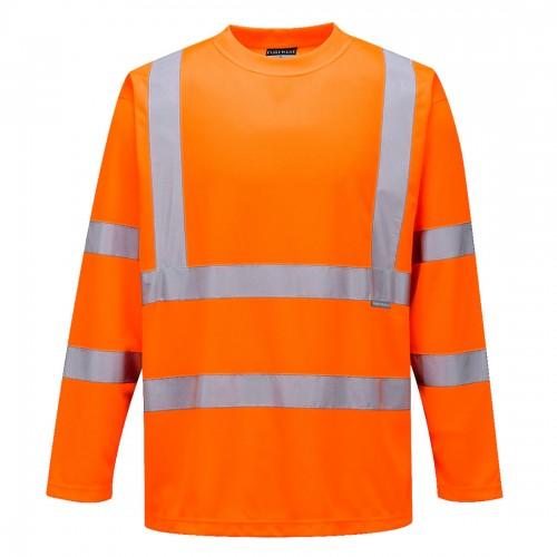 Koszulka ostrzegawcza z długim rękawem S178