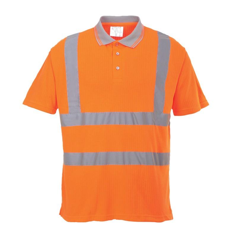 Koszulka polo ostrzegawcza S177