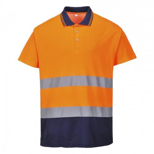 Koszulka polo ostrzegawcza Cotton Comfort S174