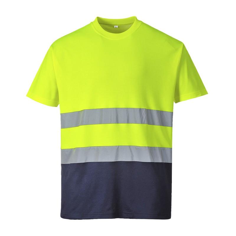 Koszulka ostrzegawcza Cotton Comfort S173