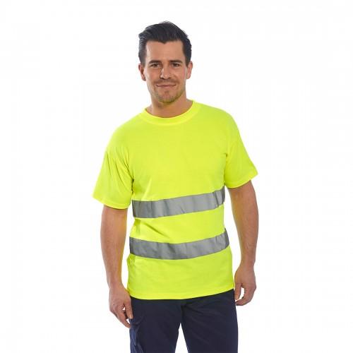 Koszulka ostrzegawcza Cotton Comfort S172