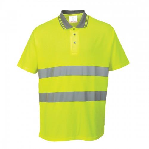 Koszulka polo ostrzegawcza Cotton Comfort S171