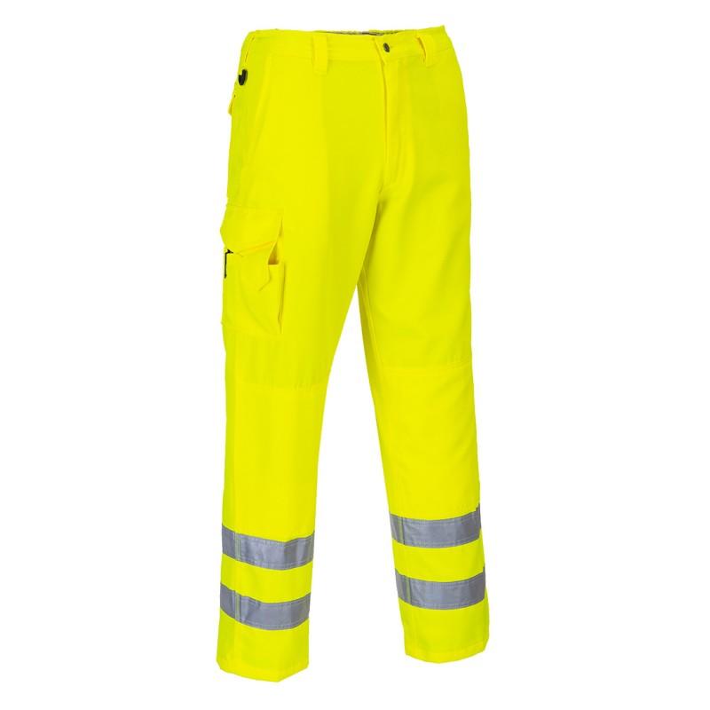 Spodnie bojówki ostrzegawcze E046