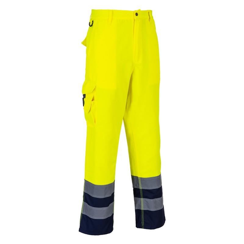 Spodnie ostrzegawcze E047