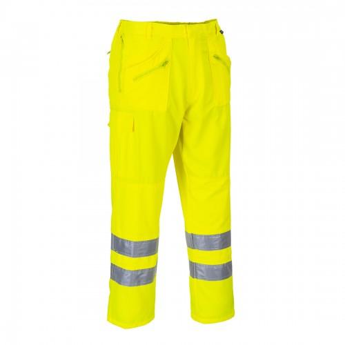 Spodnie bojówki ostrzegawcze E061