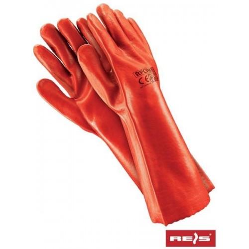Rękawice PCV RPCV40 C 10.5 (40cm)