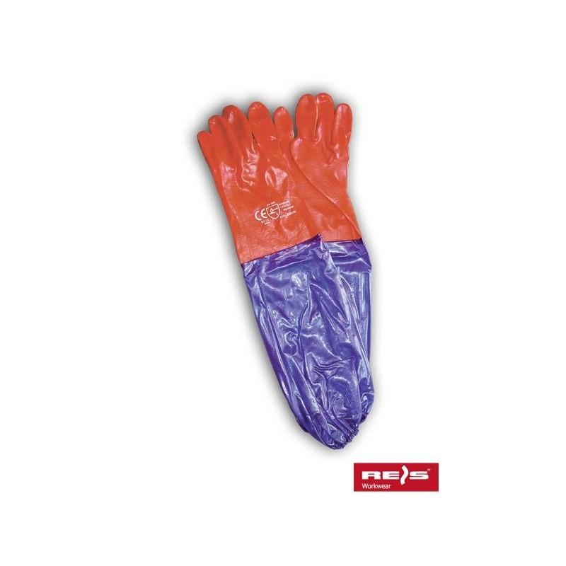 Rękawice PCV RPCV60 CV 10.5 (60cm)