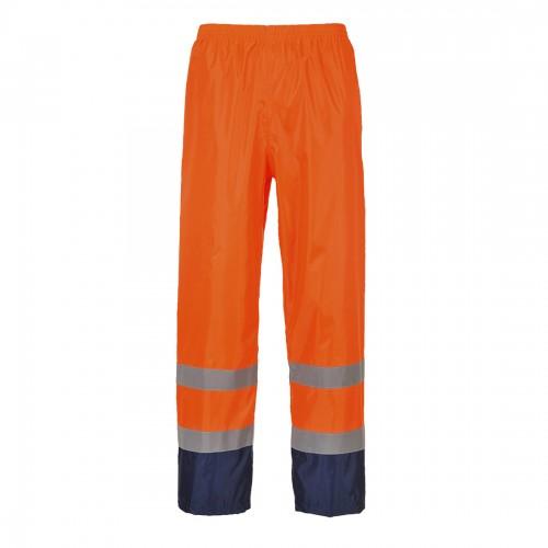 Spodnie ostrzegawcze przeciwdeszczowe H444