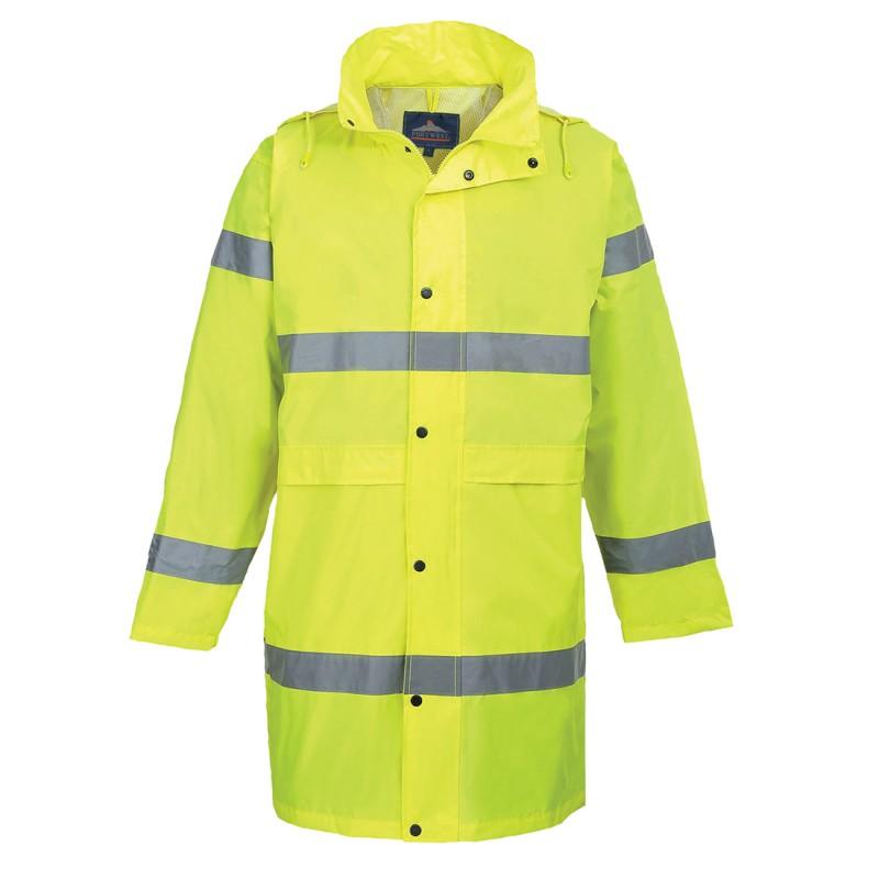 Płaszcz ostrzegawczy wodoodporny H442