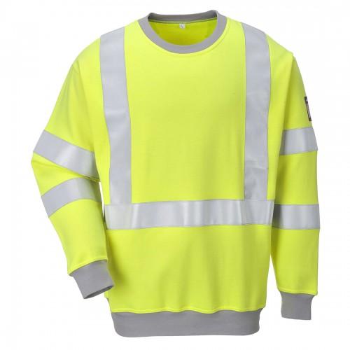 Bluza ostrzegawcza trudnopalna FR72