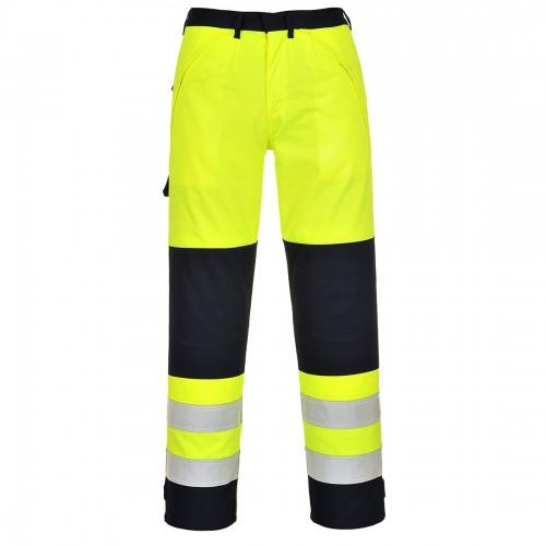 Spodnie ostrzegawcze trudnopalne Multi-Norm FR62