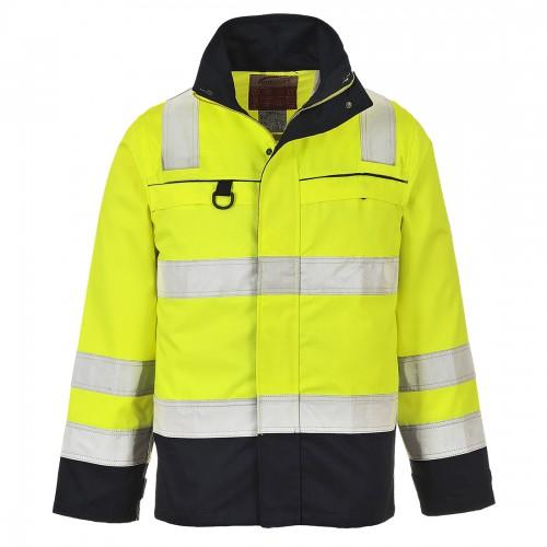 Bluza ostrzegawcza trudnopalna Multi-Norm FR61