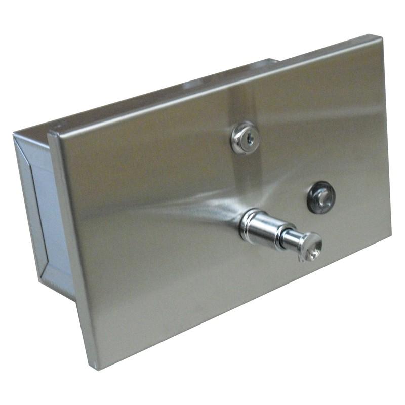 Dozownik mydła w płynie poziomy 1,2 l wnękowy