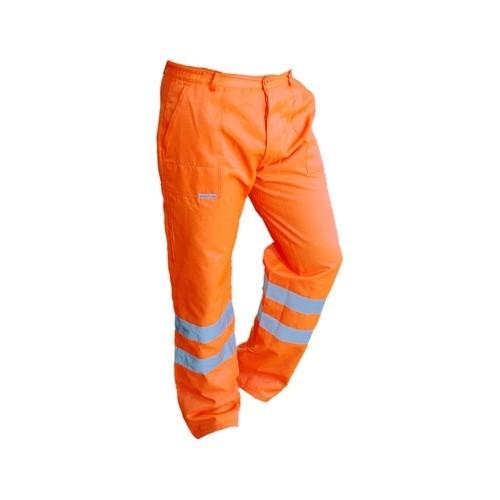 Spodnie do pasa pomarańczowe Brixton Flash