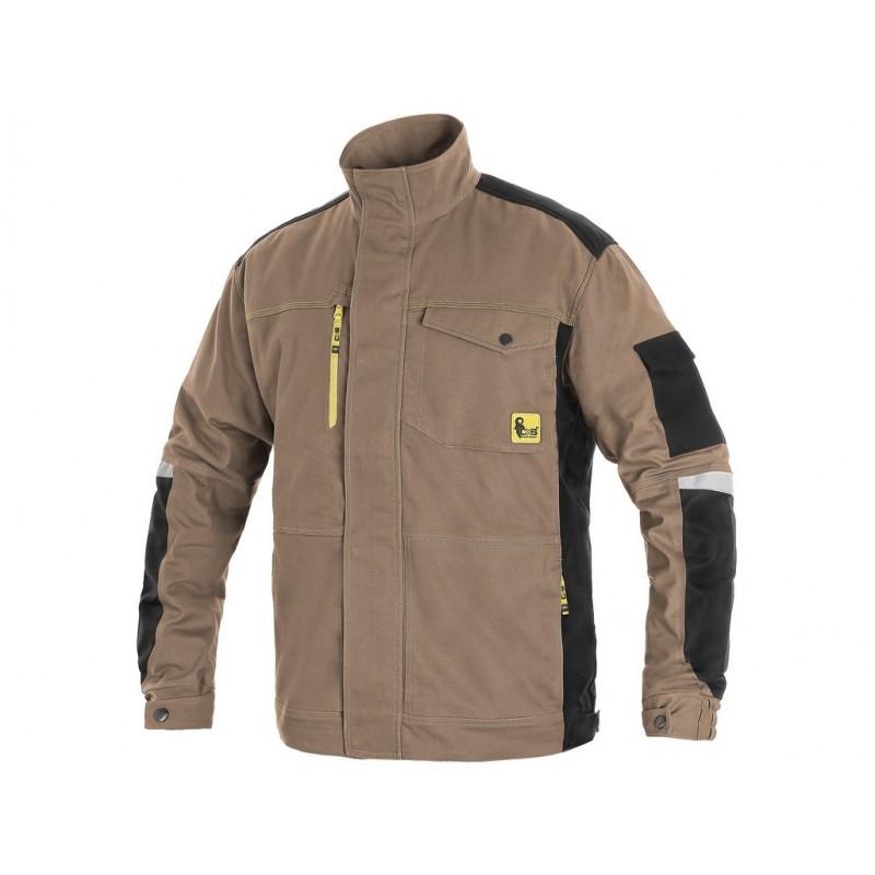 Bluza CXS STRETCH beżowo-czarna