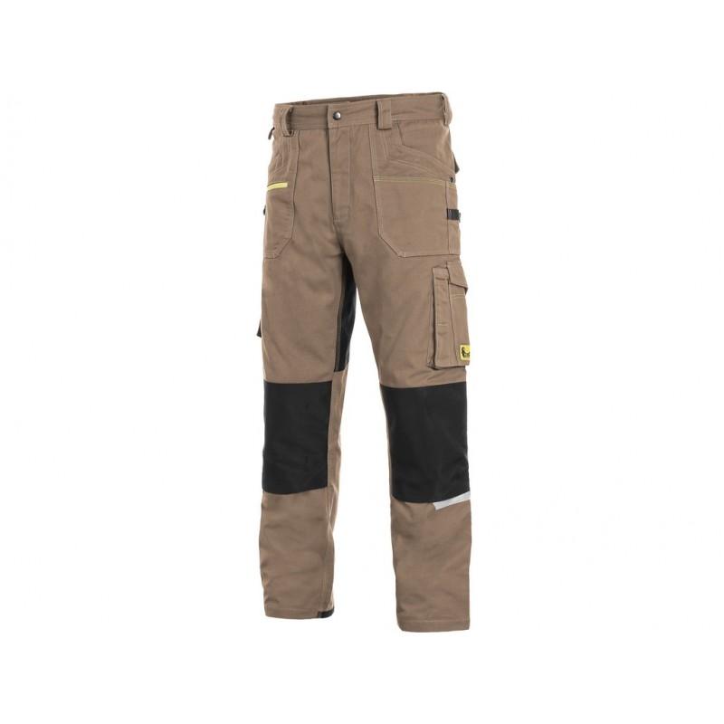 Spodnie do pasa CXS Stretch beżowe