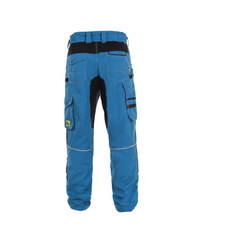 Spodnie do pasa CXS Stretch niebieskie