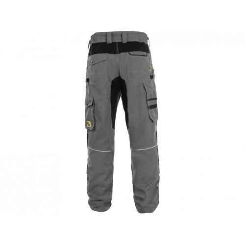 Spodnie do pasa CXS Stretch szare