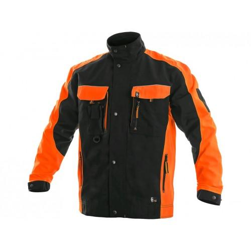 Bluza CXS Sirius BRIGHTON czarno-pomarańczowa
