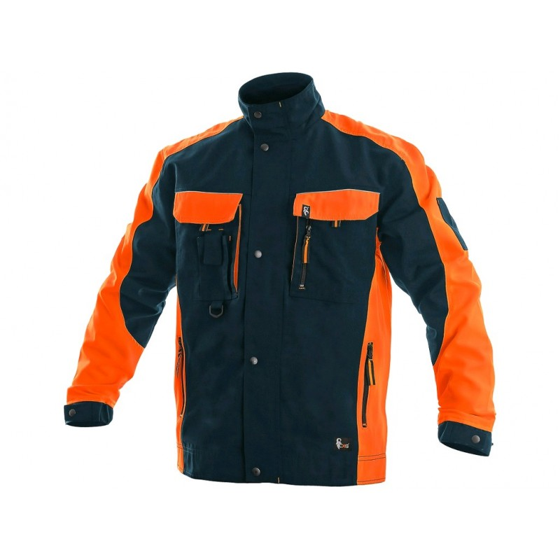 Bluza CXS Sirius BRIGHTON granatowo-pomarańczowa