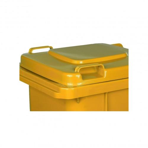 Pojemnik na śmieci 120L żółty