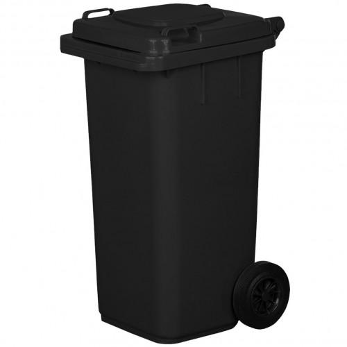 Pojemnik na śmieci 120L grafitowy