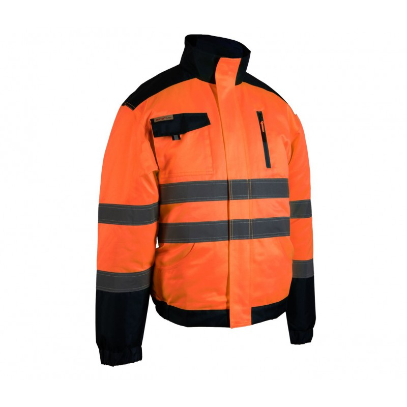 Bluza Brixton Flash pomarańcz + granat