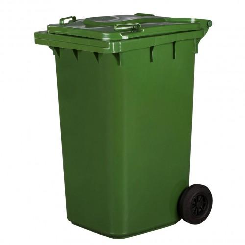 Pojemnik na śmieci 240L zielony