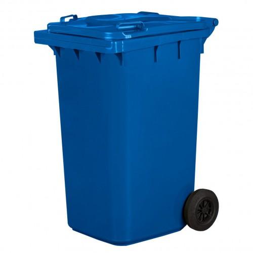 Pojemnik na śmieci 240L niebieski