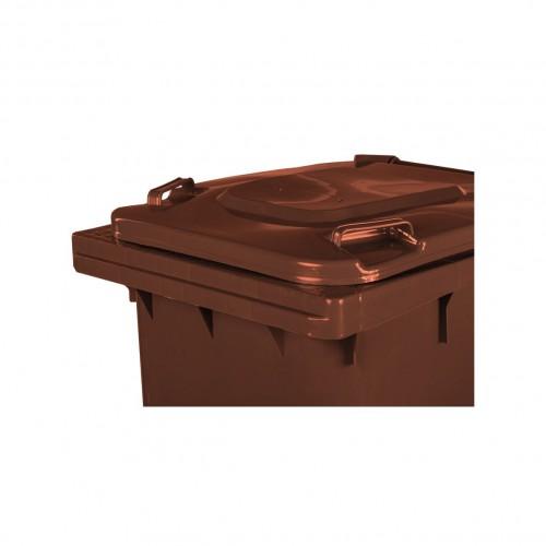 Pojemnik na śmieci 240L brązowy