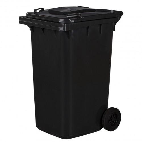 Pojemnik na śmieci 240L grafitowy
