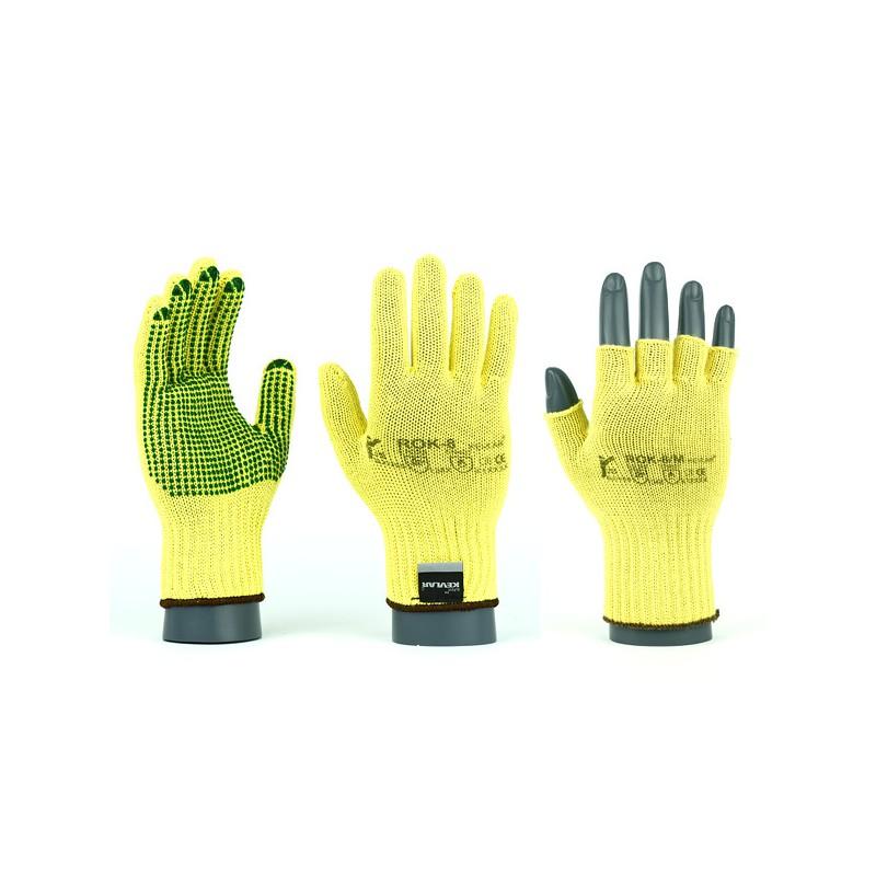 Rękawice antyprzecięciowe kevlarowe ROK / ROKV