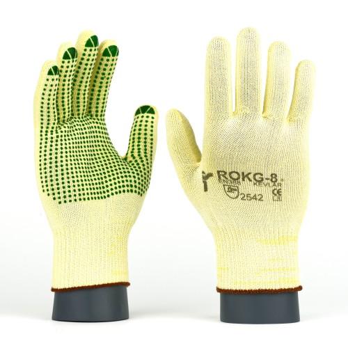 Rękawice antyprzecięciowe kevlarowe ROKG / ROKGV
