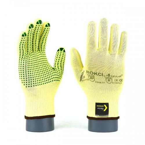 Rękawice antyprzecięciowe kevlarowe ROKCL / ROKCLV