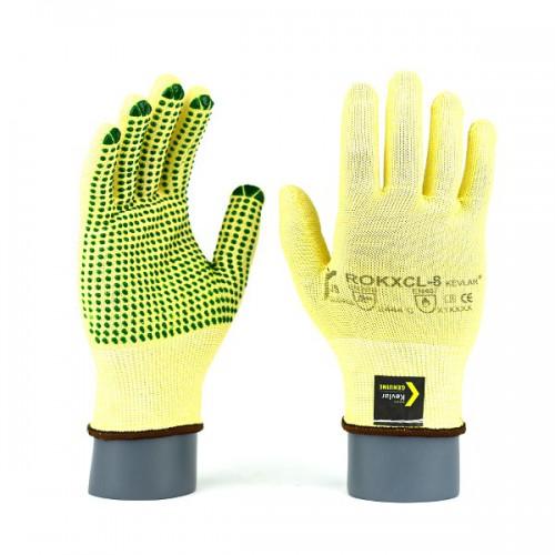 Rękawice antyprzecięciowe kevlarowe ROKXCL / ROKXCLV