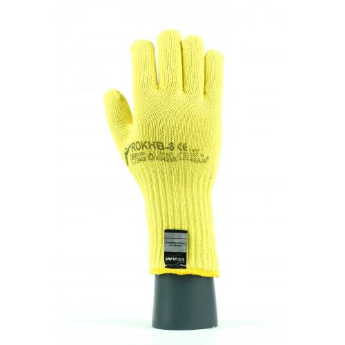 Rękawice antyprzecięciowe termiczne kevlarowe ROKHB