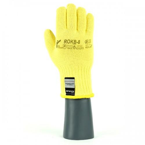 Rękawice antyprzecięciowe termiczne kevlarowe ROKB