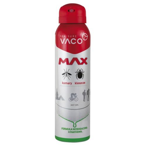 Spray MAX na komary, kleszcze, meszki z Panthenolem Vaco 100 ml