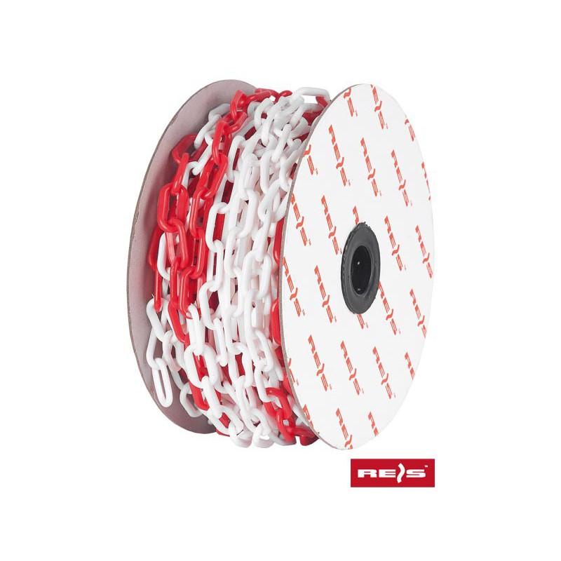 Łańcuch biało-czerwony 25m