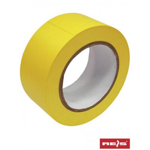Taśma ostrzegawcza samoprzylepna żółta