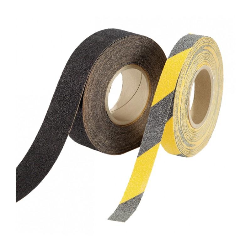 Taśma antypoślizgowa żółto-czarna Safety Trax 18m