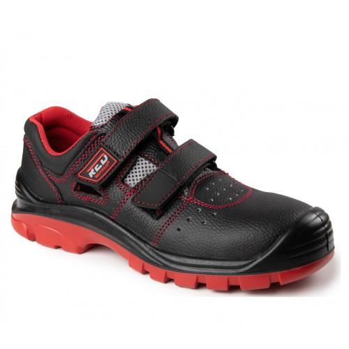 Sandały bezpieczne Max-Popular Red S1-P SRC