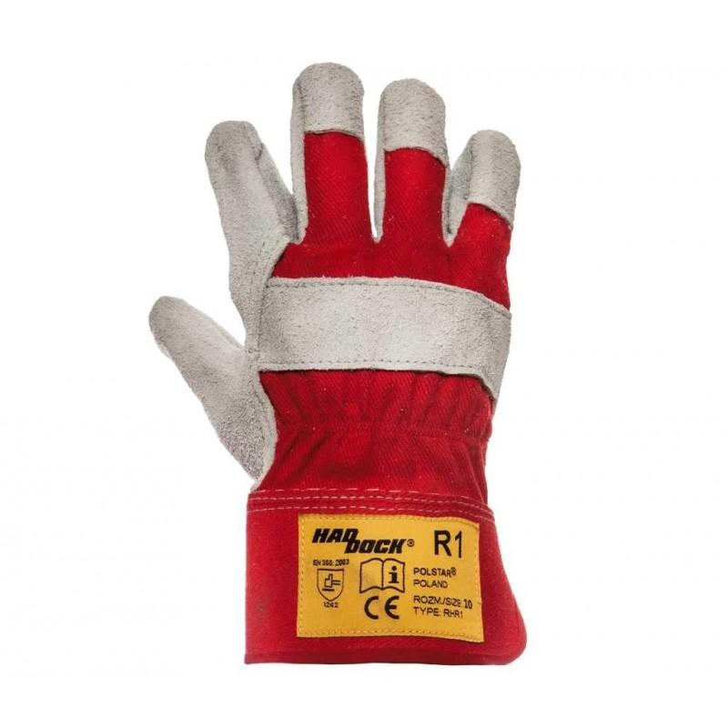 Rękawice robocze Haddock R1 Czerwone 10 Kat. II